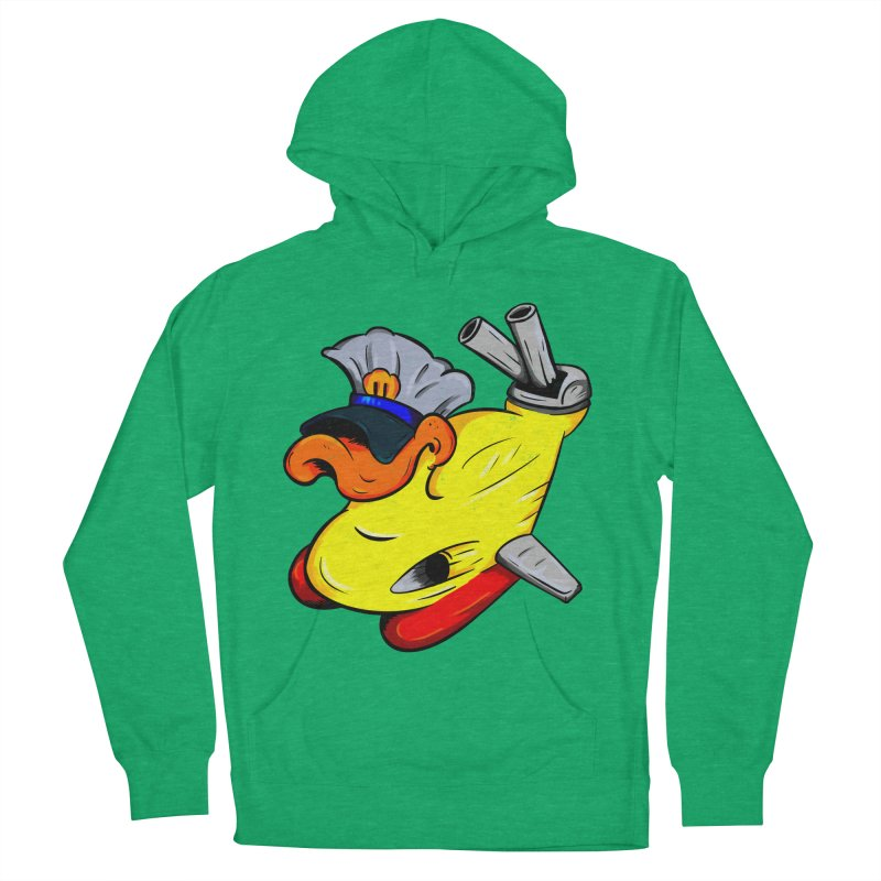 Destrucduck Men's French Terry Pullover Hoody by The Last Tsunami's Artist Shop