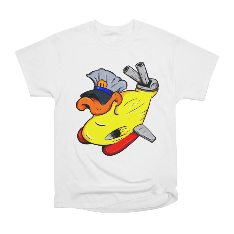 Destrucduck Men's Heavyweight T-Shirt by The Last Tsunami's Artist Shop