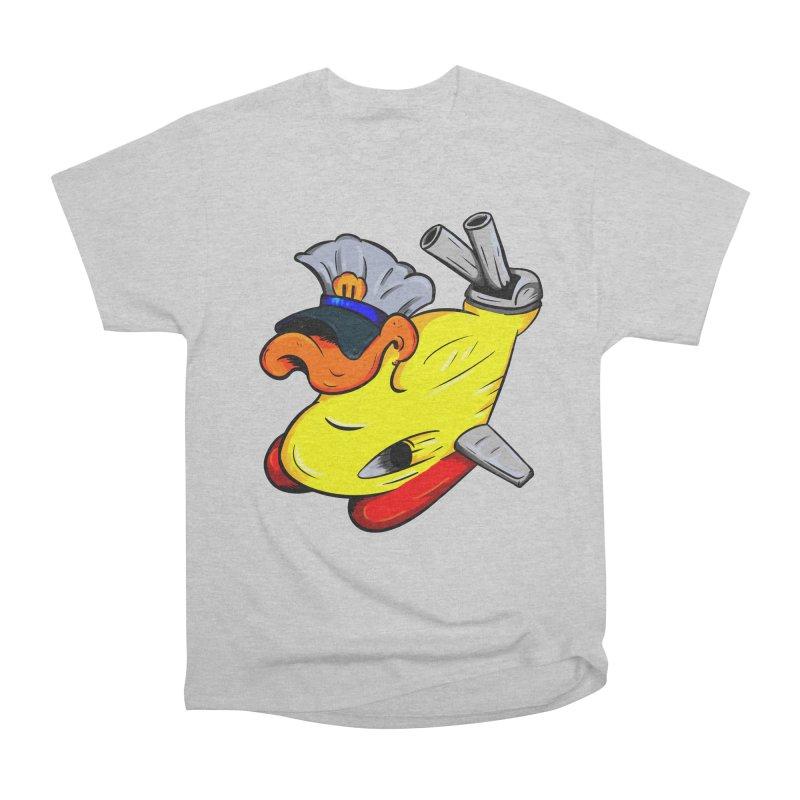 Destrucduck Women's Heavyweight Unisex T-Shirt by The Last Tsunami's Artist Shop