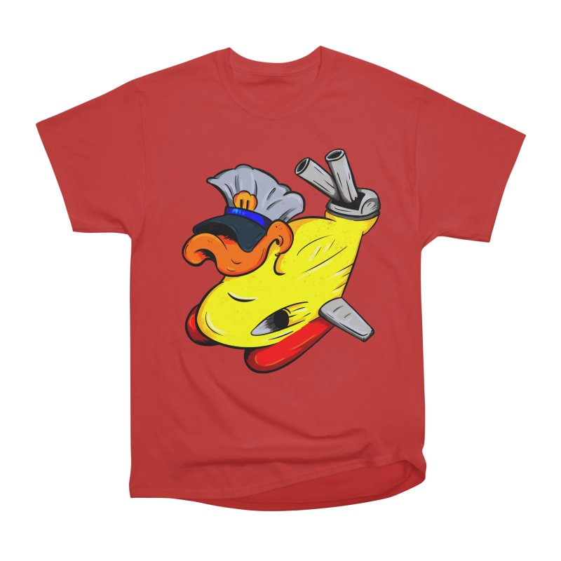 Destrucduck Men's Heavyweight T-Shirt by The Last Tsunami's Artist Shop