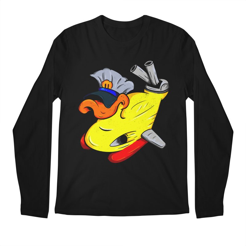 Destrucduck Men's Regular Longsleeve T-Shirt by The Last Tsunami's Artist Shop