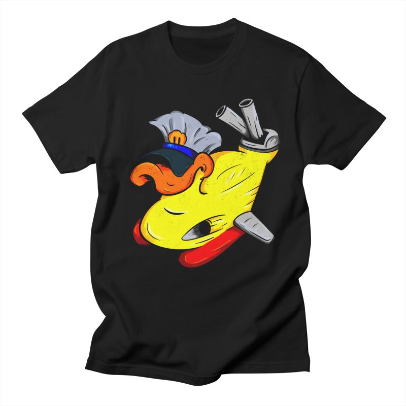 Destrucduck Women's Regular Unisex T-Shirt by The Last Tsunami's Artist Shop