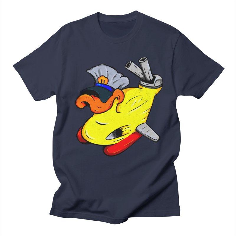 Destrucduck Women's Regular Unisex T-Shirt by The Last Tsunami's Artist Shop