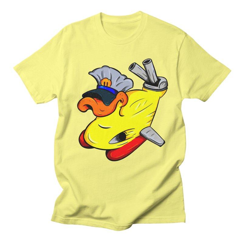Destrucduck Men's Regular T-Shirt by The Last Tsunami's Artist Shop