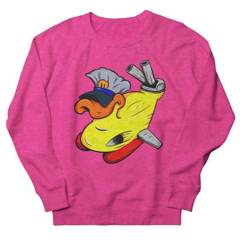 Destrucduck Women's French Terry Sweatshirt by The Last Tsunami's Artist Shop