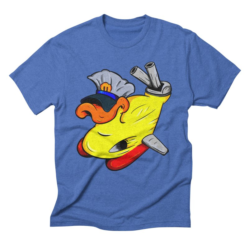 Destrucduck Men's Triblend T-Shirt by The Last Tsunami's Artist Shop