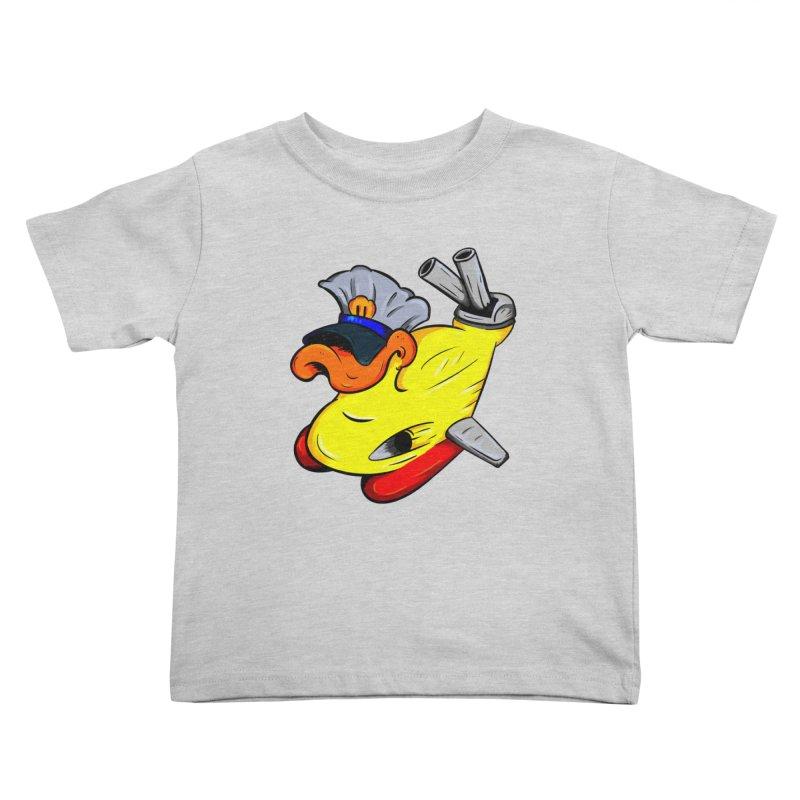 Destrucduck Kids Toddler T-Shirt by The Last Tsunami's Artist Shop