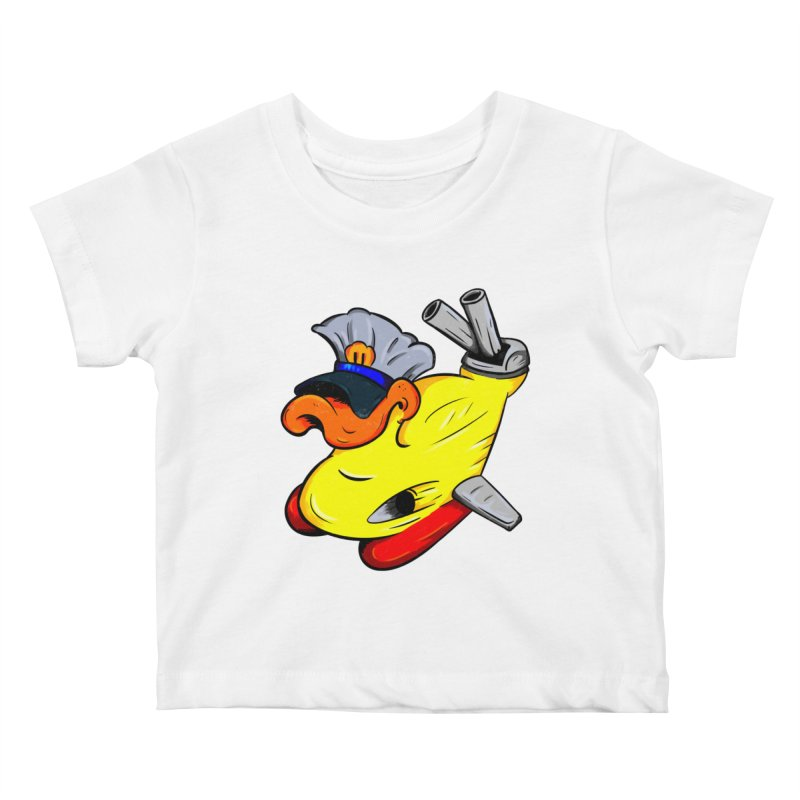 Destrucduck Kids Baby T-Shirt by The Last Tsunami's Artist Shop