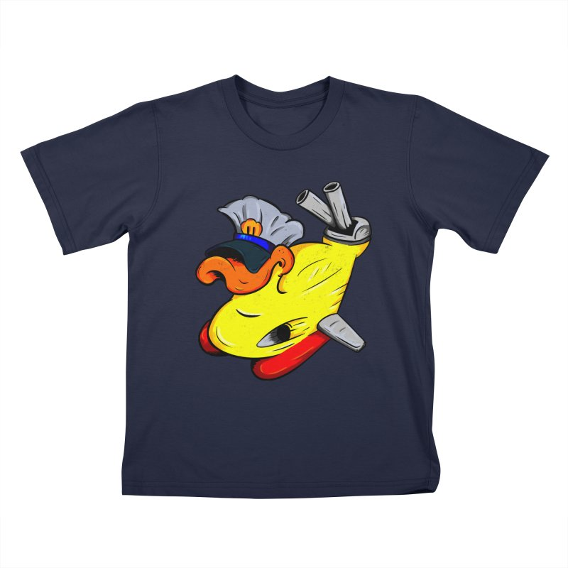 Destrucduck Kids T-Shirt by The Last Tsunami's Artist Shop