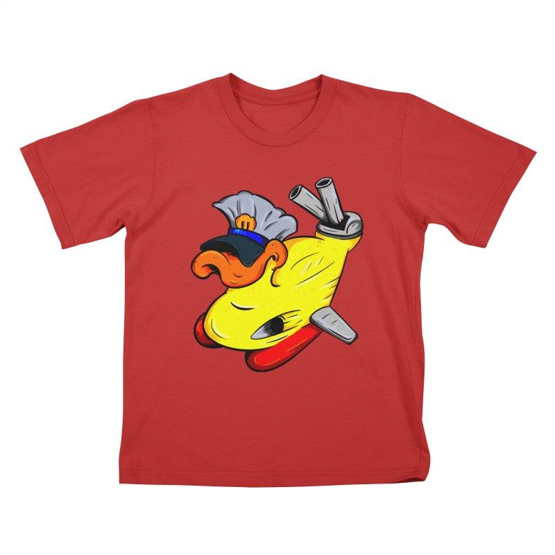 Destrucduck Kids T-Shirt by The Last Tsunami's Artist Shop