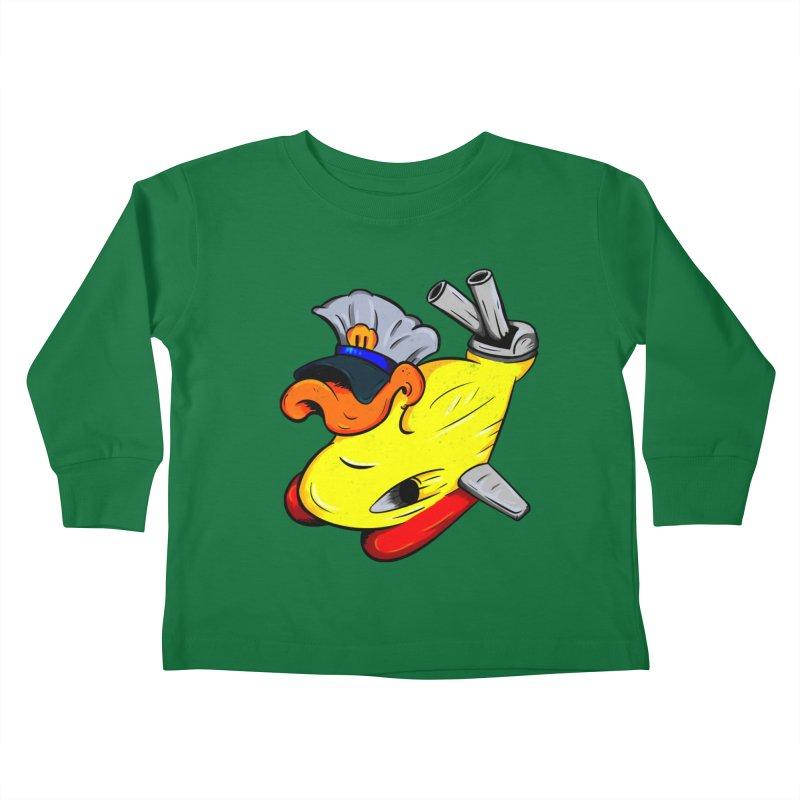 Destrucduck Kids Toddler Longsleeve T-Shirt by The Last Tsunami's Artist Shop