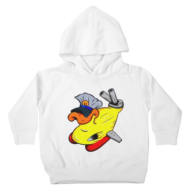Destrucduck Kids Toddler Pullover Hoody by The Last Tsunami's Artist Shop