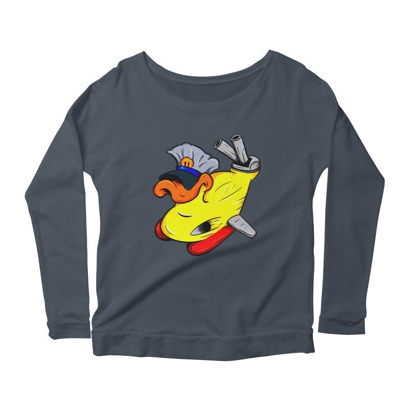 Destrucduck Women's Scoop Neck Longsleeve T-Shirt by The Last Tsunami's Artist Shop