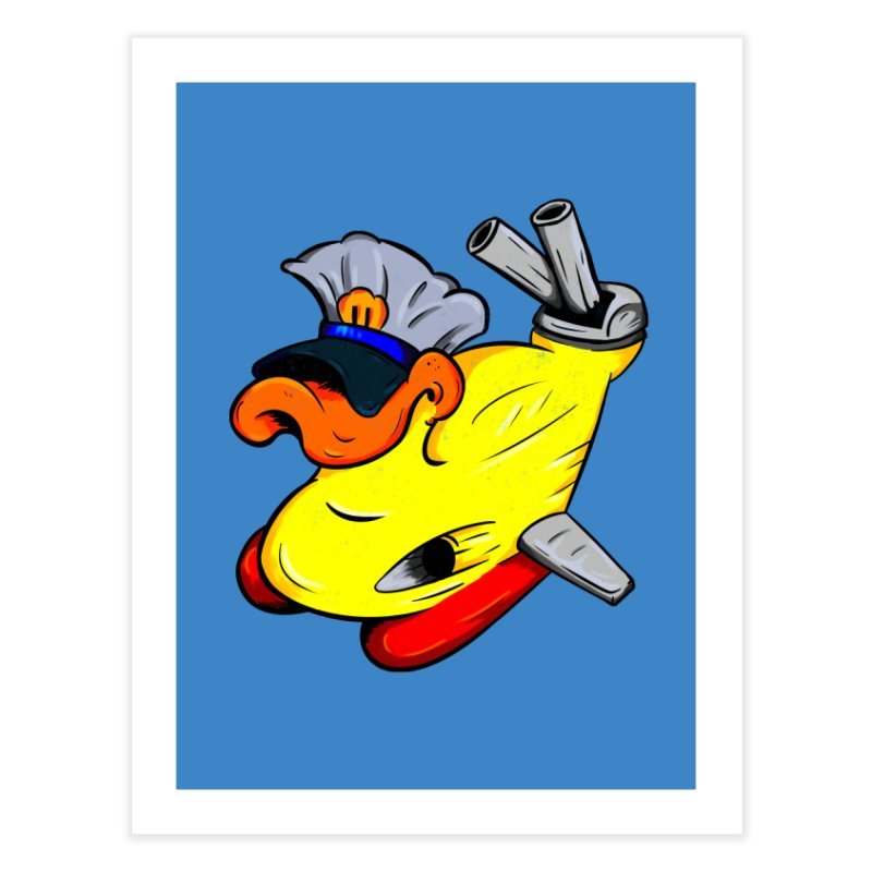 Destrucduck Home Fine Art Print by The Last Tsunami's Artist Shop
