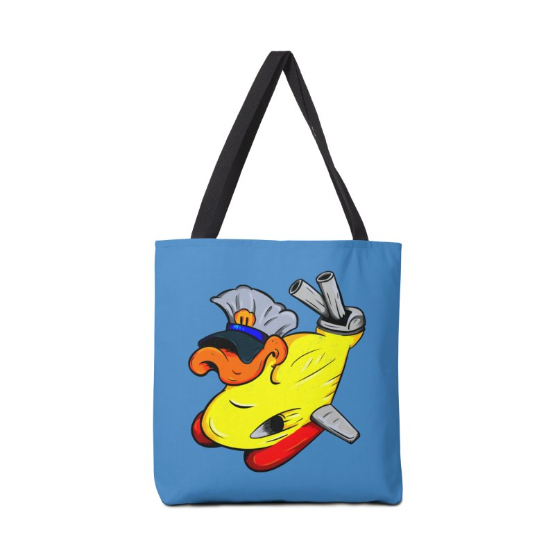 Destrucduck Accessories Tote Bag Bag by The Last Tsunami's Artist Shop