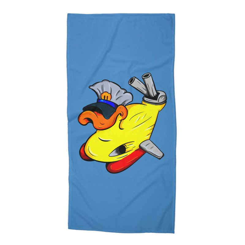 Destrucduck Accessories Beach Towel by The Last Tsunami's Artist Shop