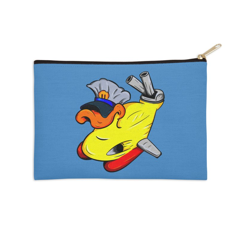 Destrucduck Accessories Zip Pouch by The Last Tsunami's Artist Shop