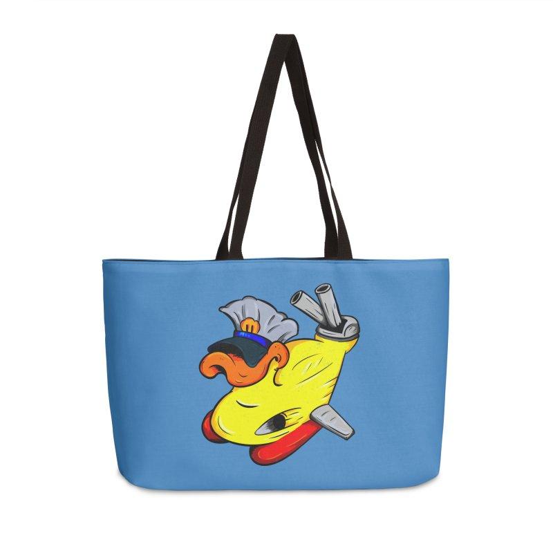 Destrucduck Accessories Weekender Bag Bag by The Last Tsunami's Artist Shop