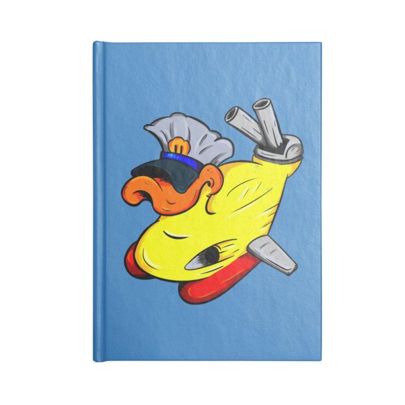 Destrucduck Accessories Lined Journal Notebook by The Last Tsunami's Artist Shop