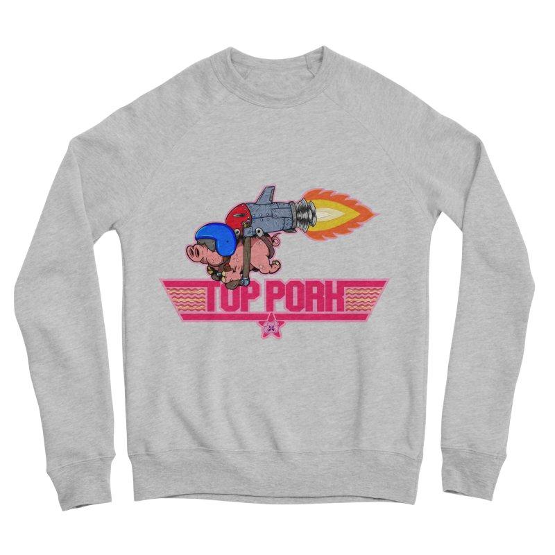 Top Pork Men's Sponge Fleece Sweatshirt by The Last Tsunami's Artist Shop