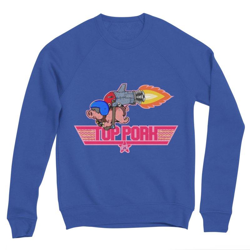 Top Pork Women's Sponge Fleece Sweatshirt by The Last Tsunami's Artist Shop