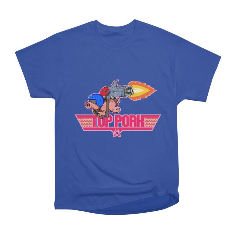 Top Pork Men's Heavyweight T-Shirt by The Last Tsunami's Artist Shop
