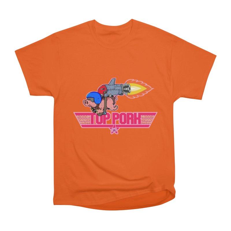 Top Pork Women's Heavyweight Unisex T-Shirt by The Last Tsunami's Artist Shop