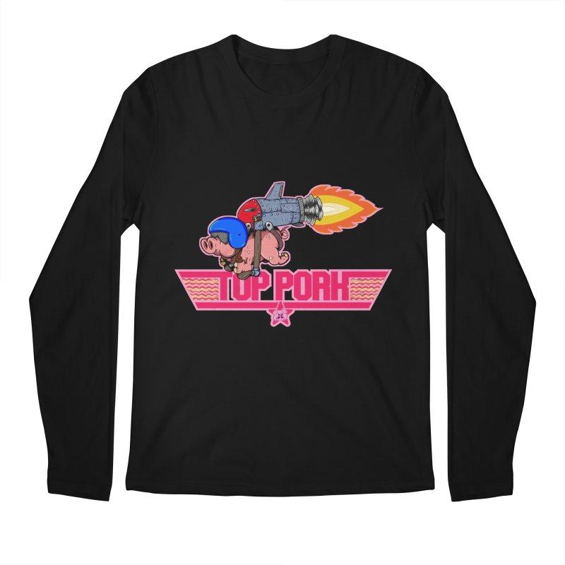 Top Pork Men's Longsleeve T-Shirt by The Last Tsunami's Artist Shop