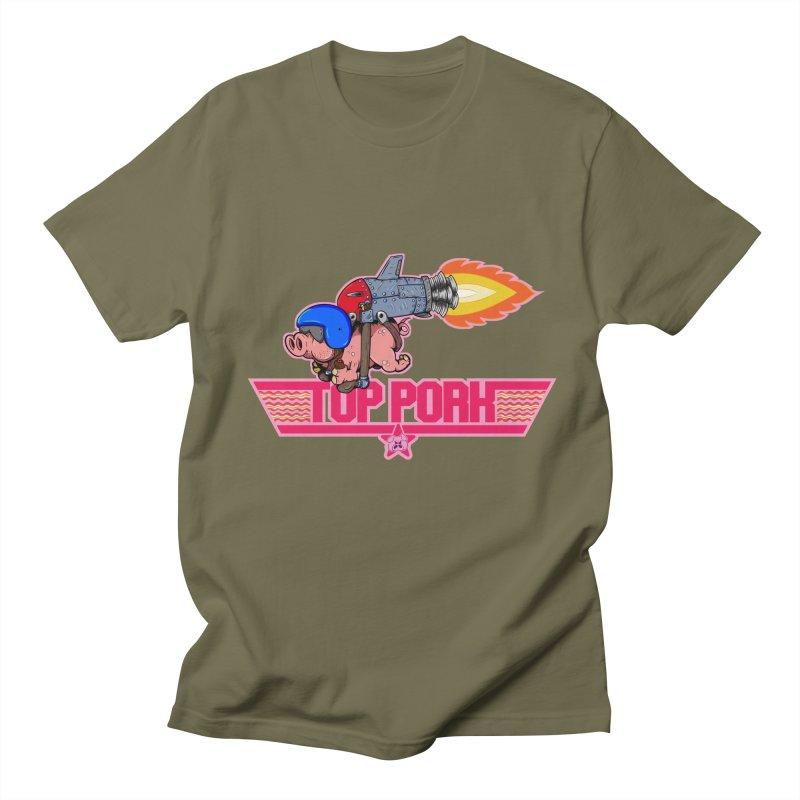 Top Pork Women's Regular Unisex T-Shirt by The Last Tsunami's Artist Shop