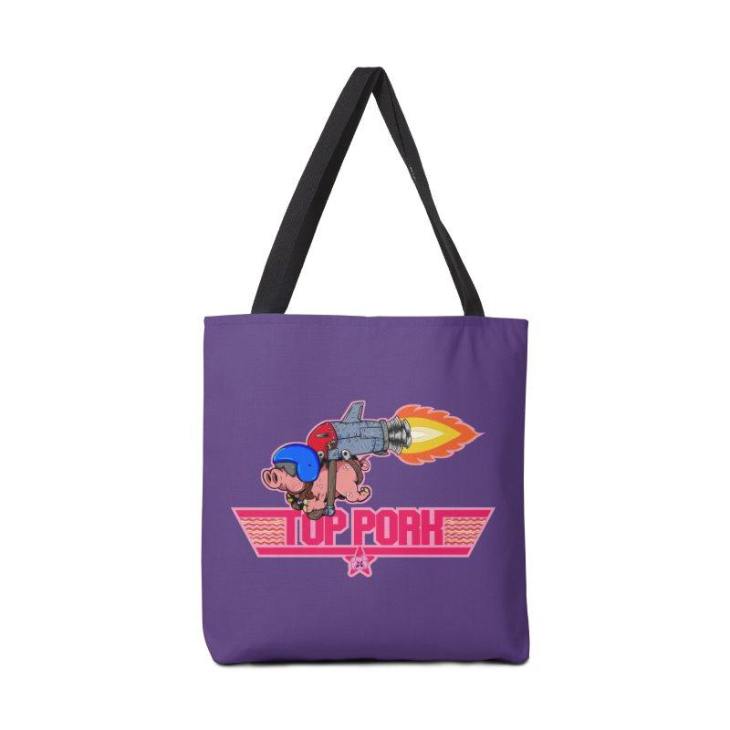 Top Pork Accessories Tote Bag Bag by The Last Tsunami's Artist Shop