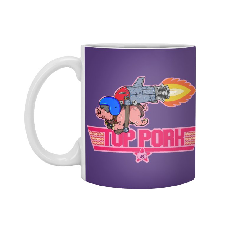 Top Pork Accessories Standard Mug by The Last Tsunami's Artist Shop