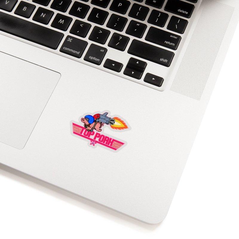 Top Pork Accessories Sticker by The Last Tsunami's Artist Shop