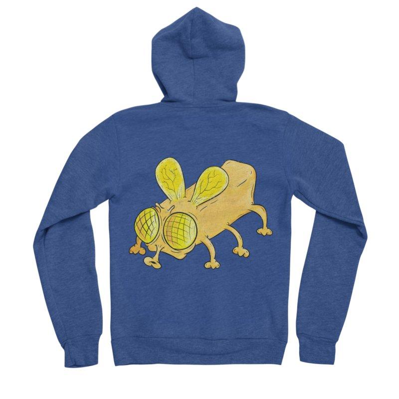 Butterfly Women's Sponge Fleece Zip-Up Hoody by The Last Tsunami's Artist Shop