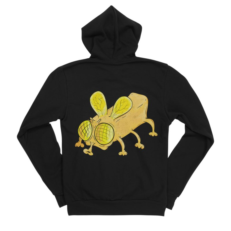 Butterfly Women's Sponge Fleece Zip-Up Hoody by The Last Tsunami's Artist Shop
