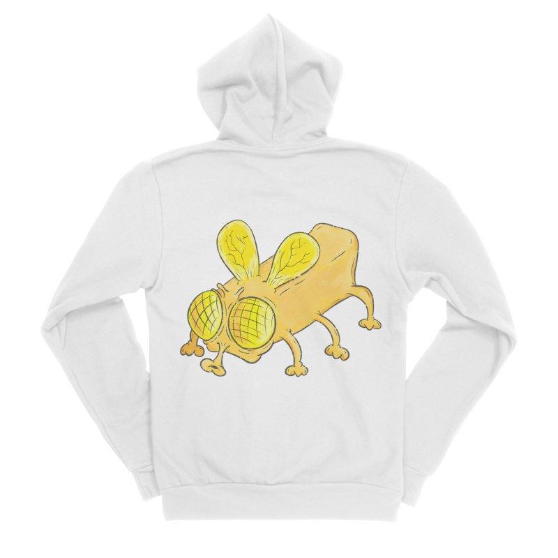 Butterfly Men's Sponge Fleece Zip-Up Hoody by The Last Tsunami's Artist Shop