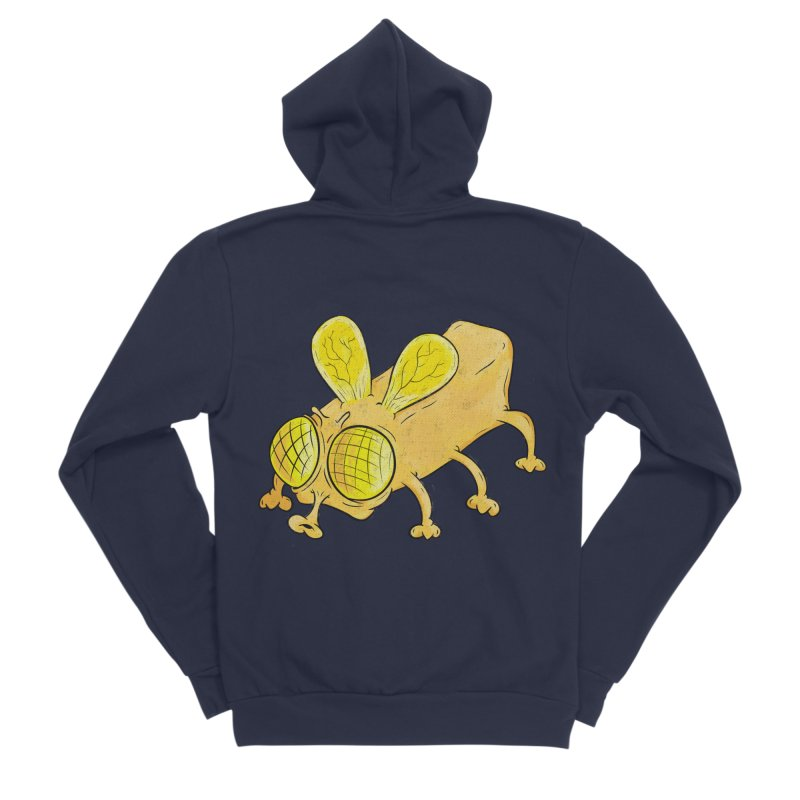 Butterfly Men's Sponge Fleece Zip-Up Hoody by The Last Tsunami's Artist Shop