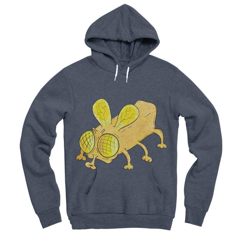 Butterfly Men's Sponge Fleece Pullover Hoody by The Last Tsunami's Artist Shop