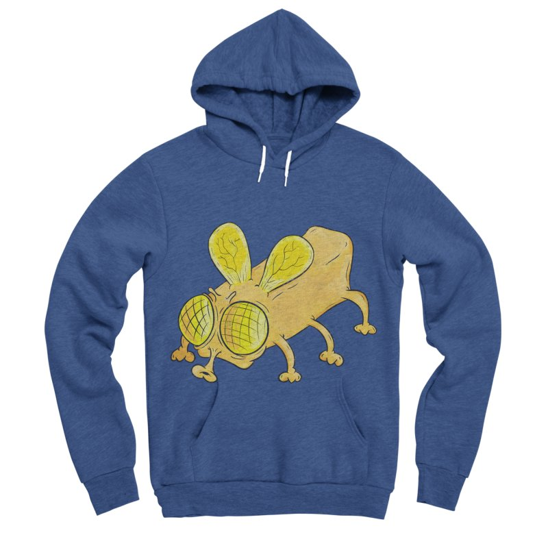Butterfly Men's Sponge Fleece Pullover Hoody by The Last Tsunami's Artist Shop