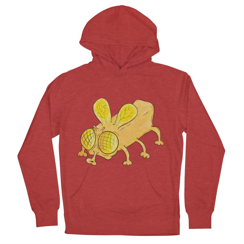Butterfly Men's French Terry Pullover Hoody by The Last Tsunami's Artist Shop