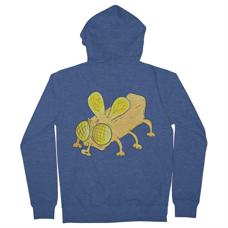 Butterfly Women's French Terry Zip-Up Hoody by The Last Tsunami's Artist Shop