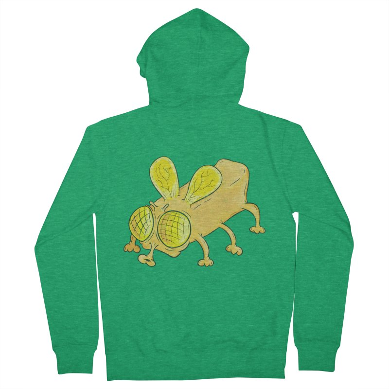 Butterfly Men's French Terry Zip-Up Hoody by The Last Tsunami's Artist Shop
