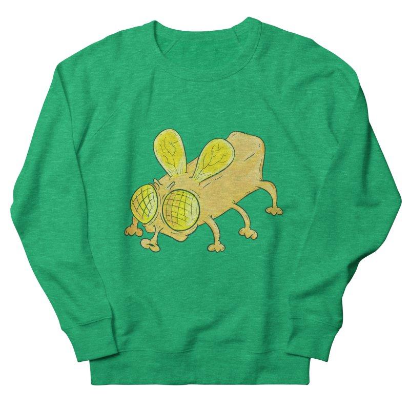 Butterfly Women's French Terry Sweatshirt by The Last Tsunami's Artist Shop