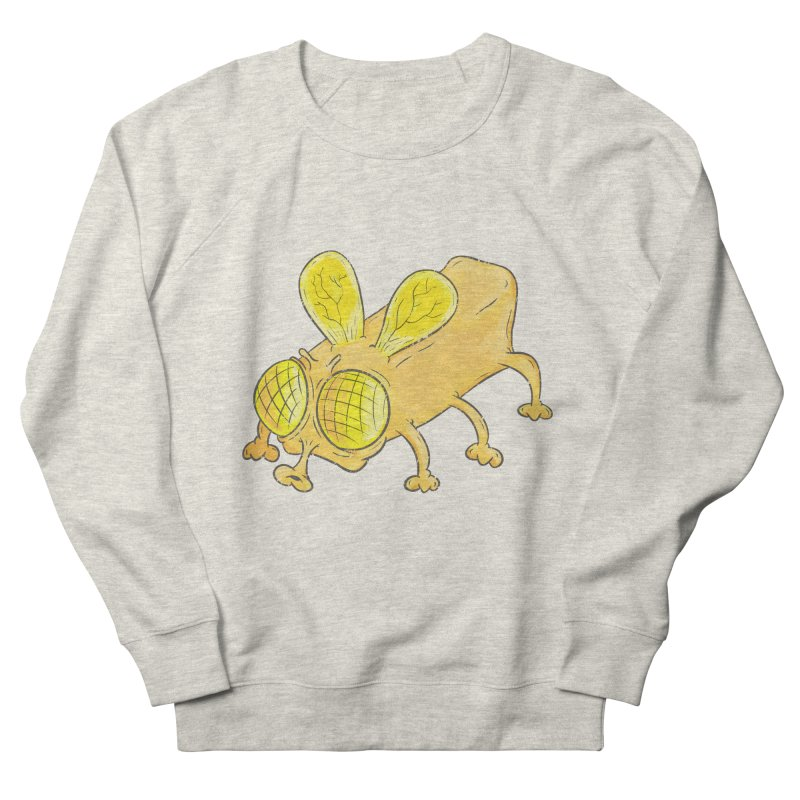 Butterfly Men's French Terry Sweatshirt by The Last Tsunami's Artist Shop