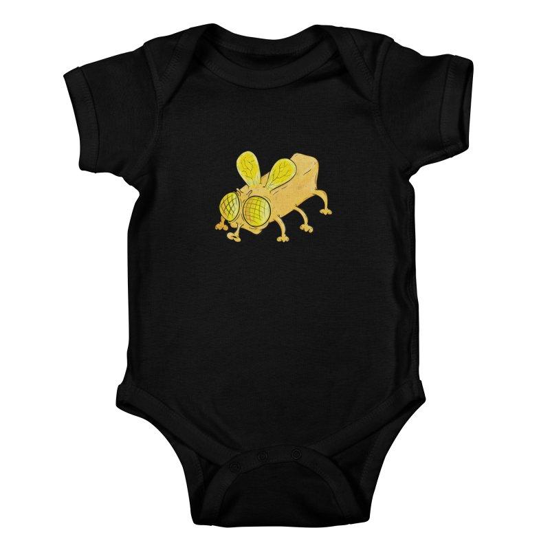 Butterfly Kids Baby Bodysuit by The Last Tsunami's Artist Shop