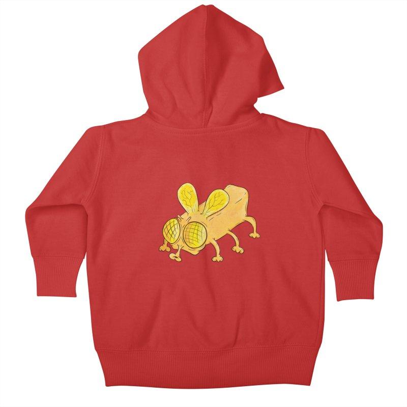 Butterfly Kids Baby Zip-Up Hoody by The Last Tsunami's Artist Shop