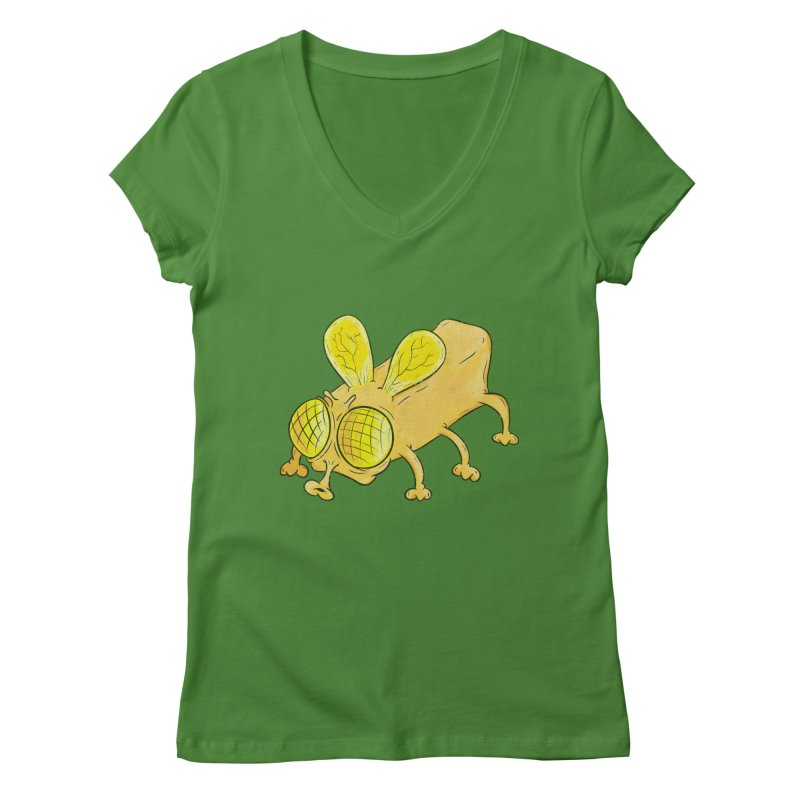 Butterfly Women's V-Neck by The Last Tsunami's Artist Shop
