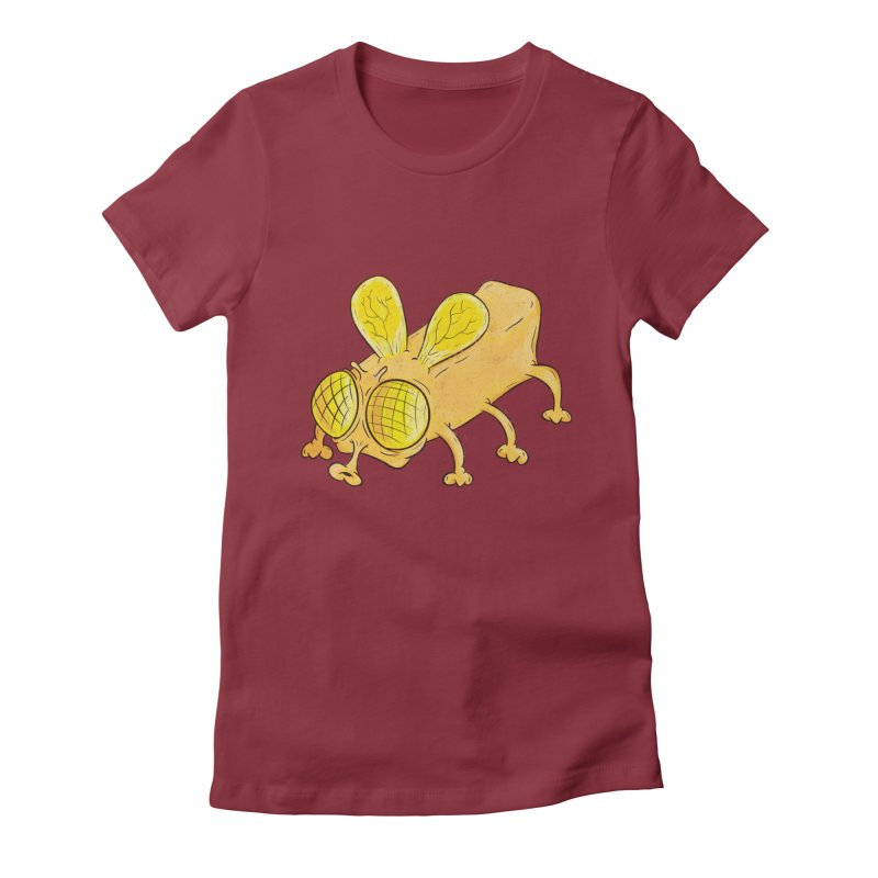 Butterfly Women's Fitted T-Shirt by The Last Tsunami's Artist Shop