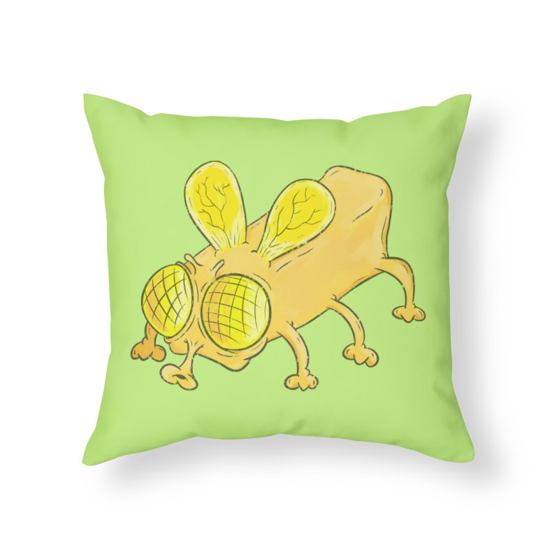 Butterfly Home Throw Pillow by The Last Tsunami's Artist Shop