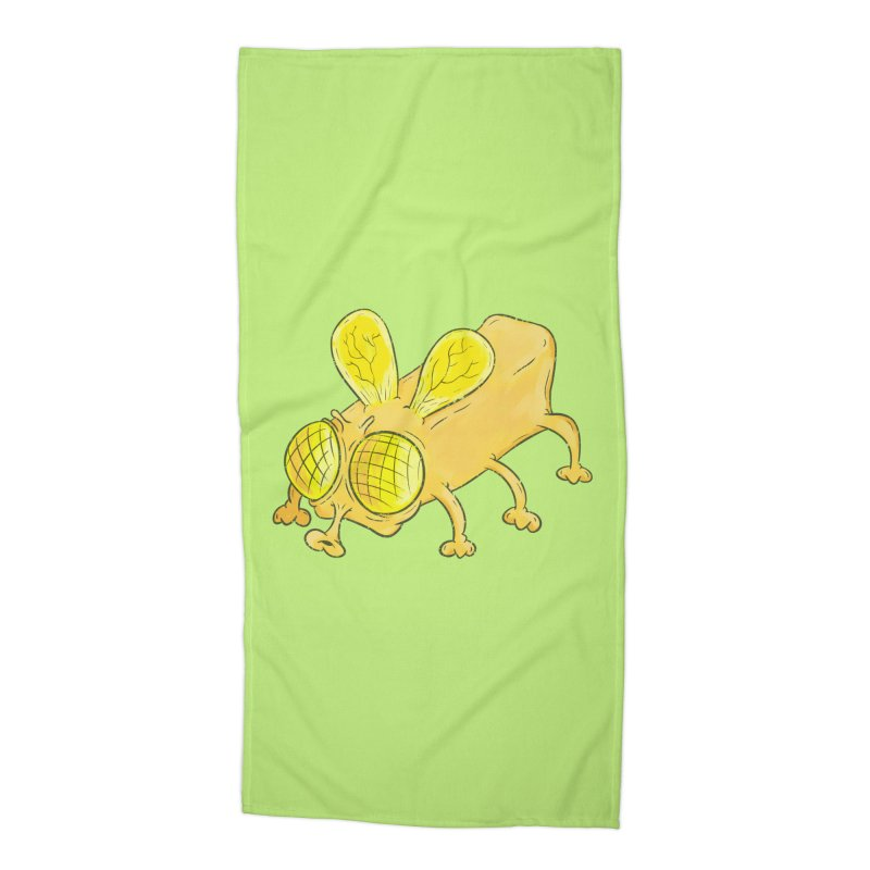 Butterfly Accessories Beach Towel by The Last Tsunami's Artist Shop