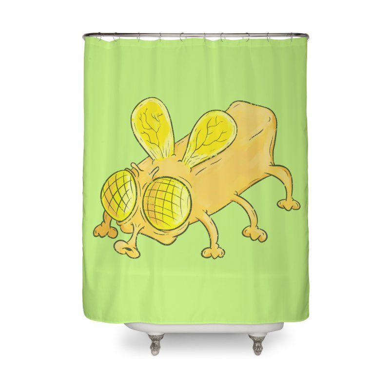 Butterfly Home Shower Curtain by The Last Tsunami's Artist Shop